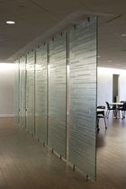 Construction panel / separating / for partition walls