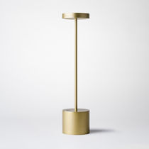 Table lamp / contemporary / metal / outdoor