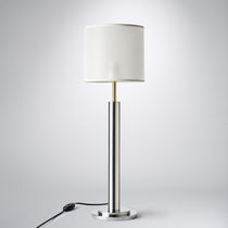 Table lamp / contemporary / aluminum / brass