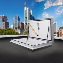 Roof hatch / rectangular / metal