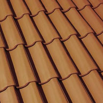 Pan roof tile / clay