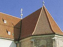 Roman roof tile / interlocking / clay