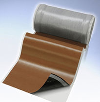 Metal waterproofing membrane / for roofs / roll / drainage
