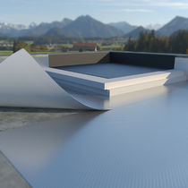 Aluminum vapor barrier / self-adhesive / flat roof