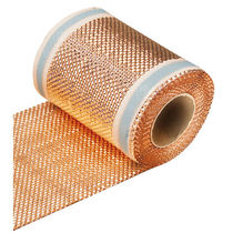 Butyl rubber auto-adhesive strip / copper