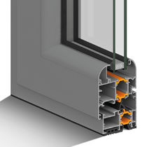 Aluminum window profile / acoustic / thermal break