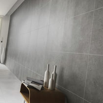 PVC wallcovering / residential / textured / concrete look