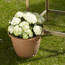Resin garden pot / round