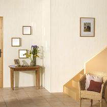 Wall-mounted paneling / PVC / stone