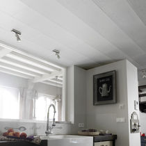 Ceiling paneling / PVC / textured