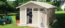 Metal garden shed / recycled plastic / contemporary / residential