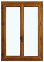 Tilt-and-turn window / PVC / double-glazed / thermal break