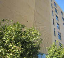 Perforated brick / for facades / clinker