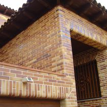 Perforated brick / for facades