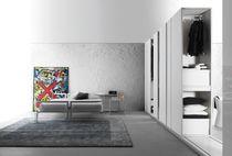 Contemporary walk-in wardrobe / wooden