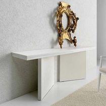 Contemporary sideboard table / oak / rectangular