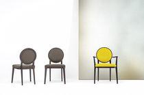 Contemporary armchair / textile / medallion / contract