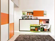 Laminate desk / contemporary / with shelf