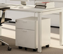 Steel office unit / 3-drawer / 2-drawer / on casters