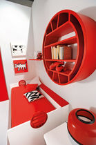Unisex children's bedroom furniture set / red