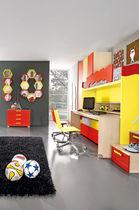 Unisex children's bedroom furniture set / yellow