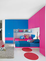 Unisex children's bedroom furniture set / pink