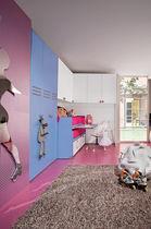 Unisex children's bedroom furniture set / blue