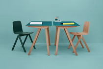 Wooden desk / Scandinavian design / by Ronan & Erwan Bouroullec