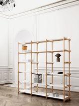 Contemporary shelf / oak / steel