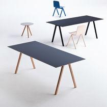 Oak desk / Scandinavian design / by Ronan & Erwan Bouroullec