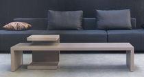 Coffee table / contemporary / wooden / rectangular