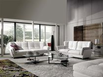 Contemporary sofa / fabric / 2-seater / high-back
