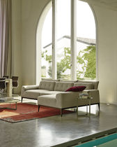 Modular sofa / corner / contemporary / wood