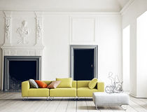 Modular sofa / contemporary / fabric / 3-seater