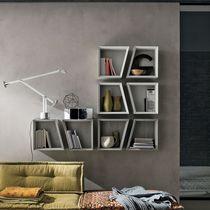 Wall-mounted shelf / contemporary / laminate