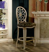 Traditional bar chair / fabric