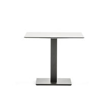 Powder-coated steel table base / contemporary / contract