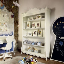 Classic bookcase / lacquered wood / child's