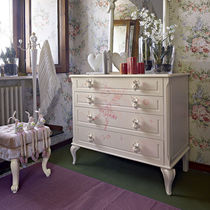Classic chest of drawers / wooden / girl's / child's