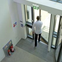 Ceiling emergency light / wall-mounted / hanging / rectangular