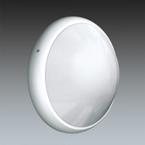 Surface-mounted light fixture / LED / compact fluorescent / round