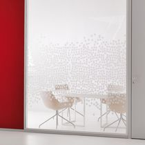 Removable partition / metal / glazed / for offices
