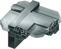 Projection roof window / aluminum / double-glazed / thermal break