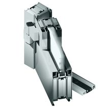 Aluminum door profile / smoke-proof / fire-rated / thermally-insulated