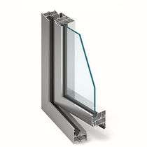 Aluminum window profile / thermally-insulated