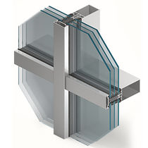 Aluminum profile / for curtain walls