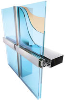 Structural glass curtain wall / insulated glass panel / high-resistance