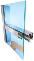 Window glass panel / building / insulating / laminated