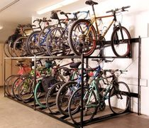 Steel bike rack