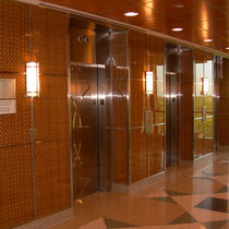 Handrail glass panel / for partition walls / for doors / for windows